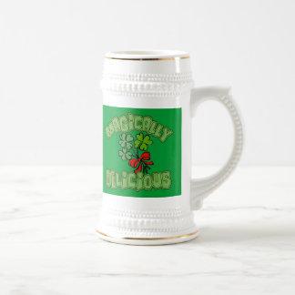 Magically Delicious with Shamrocks Mug