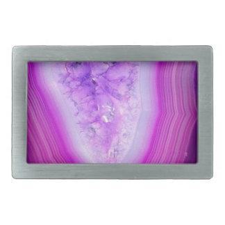 Magically Purple Agate Druzy Belt Buckles