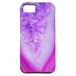 Magically Purple Agate Druzy iPhone 5 Cases