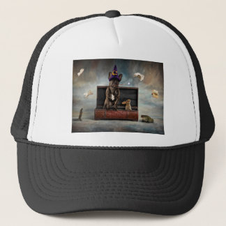 Magician and Friends Trucker Hat
