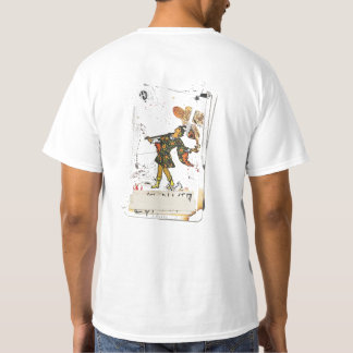 """Magician and the fool"" T-Shirt (RW tarocchi)"