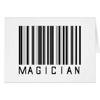 Magician Bar Code Card