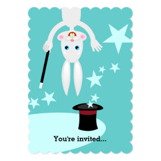 Magician Kid Birthday Party 13 Cm X 18 Cm Invitation Card