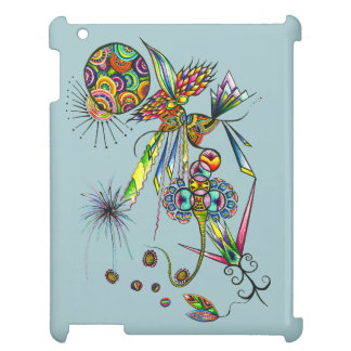 Magician - psychedelic character moon & sun magic iPad case