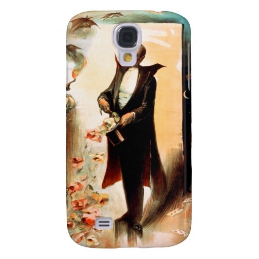 Magician pulling roses out of top hat, c.1892 samsung galaxy s4 cover