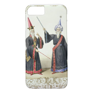 Magicians at the Carnival in Berlin, 1836 (colour iPhone 7 Case