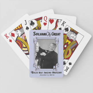 Magician's playing cards
