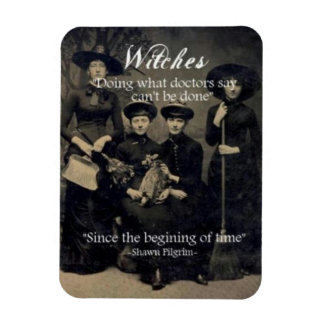 Magick - Doing What Can't Be Done Rectangular Photo Magnet