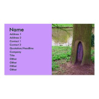 Magick Door business card