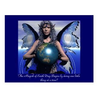 Magick of EarthDay Postcard
