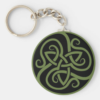 Magick - Triquetra Key Ring