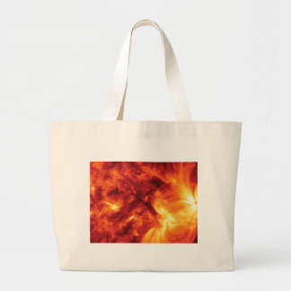 magma churn large tote bag