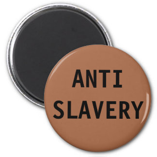 Magnet Anti Slavery Brown
