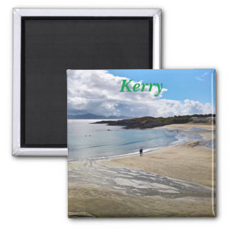 Magnet: Beautiful beach with a blue sky ; Ireland Magnet