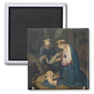 Magnet: Birth of Christ Square Magnet
