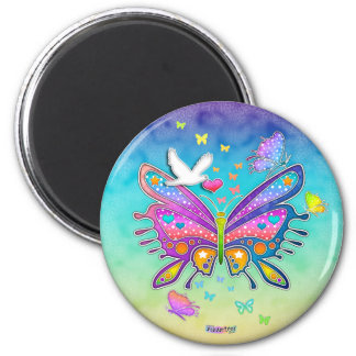 Magnet - BUTTERFLY POP ART