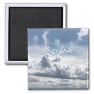 Magnet Carpe Diem, beautiful photo of the clouds
