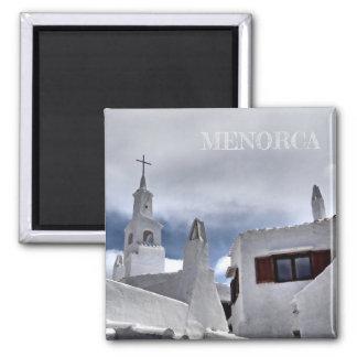 magnet church in the island of Menorca