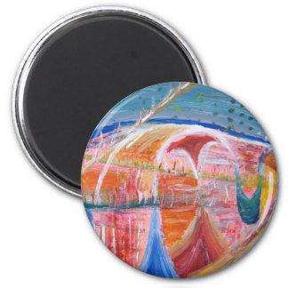 Magnet-curl curl 6 cm round magnet