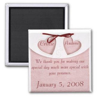 Magnet Elegant Wedding Favor- Personalize it!