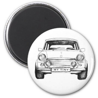 Magnet English Car classic Frontal