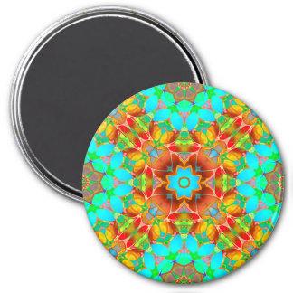 Magnet Floral Fractal Art G410