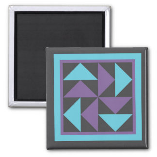 Magnet - Flying Dutchman Quilt Block