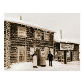 Magnet House Yukon, Alaska circa 1890s Postcard