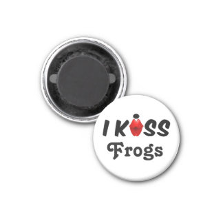 Magnet I Kiss Frogs