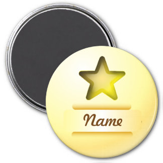 Magnet icon gold star