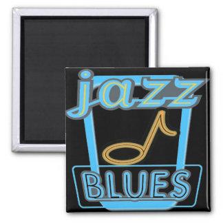 Magnet-Jazz Blues Music- Magnet