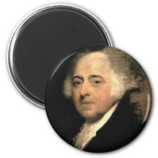Magnet : John Adams