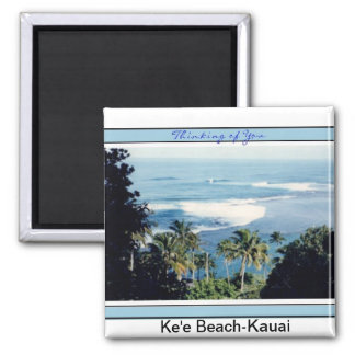 Magnet-Ke'e Beach, Kauai's North Shore Square Magnet