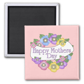 Magnet Mothers Day Wishes Flowers Refrigerator Magnet