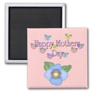 Magnet Mothers Day Wishes Flowers Fridge Magnets