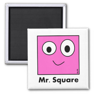 Magnet Mr. Square By Par3a