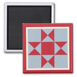 Magnet - Ohio Star Quilt Square