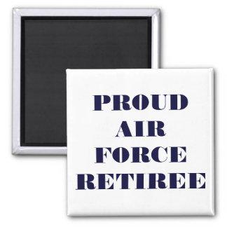 Magnet Proud Air Force Retiree