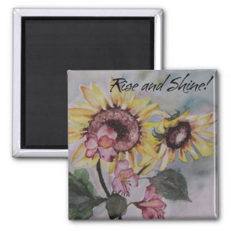 Magnet - Sunflower - Rise and Shine!