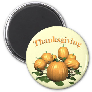 Magnet - Thanksgiving Pumpkin Patch