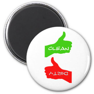 Magnet- Thumbs Up/Down Clean/Dirty Dishes- Color C