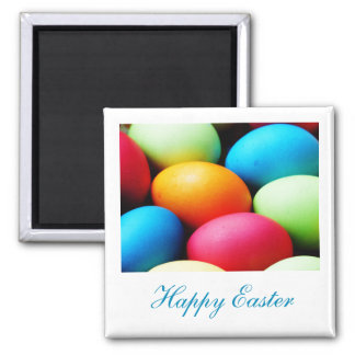 Magnet to celebrate Easter' S Day - Colored eggs