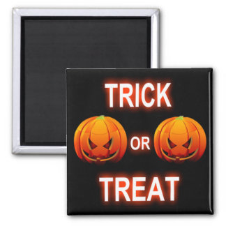 Magnet Trick Or Treat Pumpkins