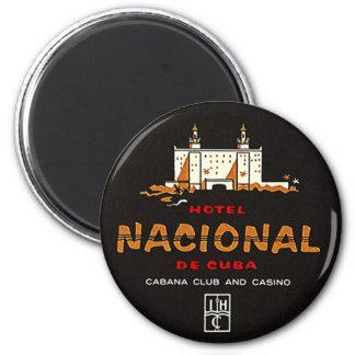 Magnet Vintage Hotel Nacional de Cuba Club Casino