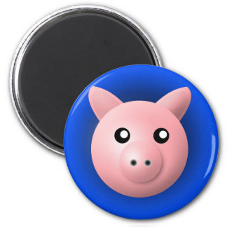 magnet with animal: pig