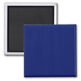 Magnet with Navy Blue Background