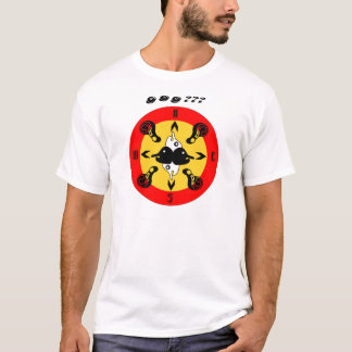 Magnetic Compass Tshirt Design