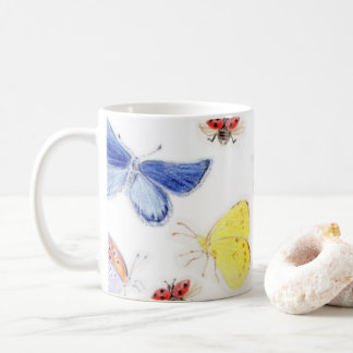 Magnetic cup of butterfly