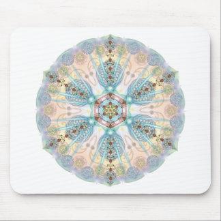 Magnetic Energy Mandala Mouse Pad