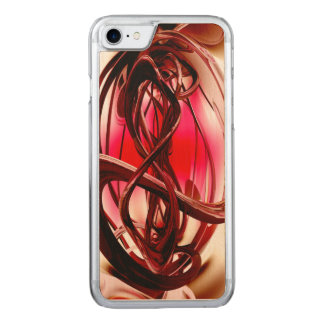 Magnetic Forces Abstract Carved iPhone 7 Case